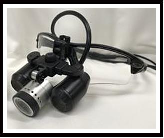 拡大鏡(6倍+ライト)衛生士用