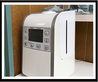 超音波式空間除菌消臭加湿器(次亜塩素酸水プレベント用噴霧器)